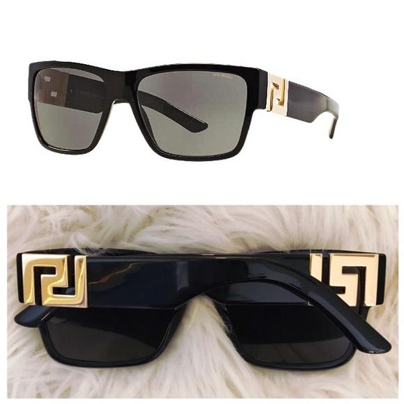 b8bb2b9eb2 Versace Authentic Sunglasses - Black - 4296. M 5a9b3bf205f430da0f1b758e